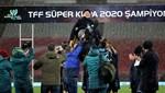 Trabzonspor'da kupa coşkusu