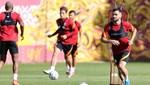 Galatasaray'da Emre Taşdemir ve Ömer Bayram takıma katıldı