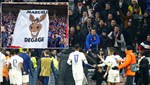 Eski Beşiktaşlı Marcelo için çirkin pankart
