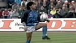 Maradona'nın futbol dansı