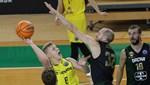 FIBA Şampiyonlar Ligi: Darüşşafaka Tekfen 79-74 Filou Oostende   Maç Sonucu
