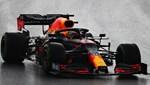 Yağış altında en hızlı antrenman turu Max Verstappen'den