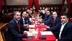 Galatasaray'da yeni yönetim, ilk toplantısını Galatasaray Lisesi'nde yaptı