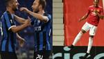 Inter ve ManU çeyrek finalde