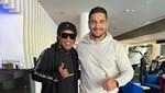Ronaldinho, Taha Akgül ile görüştü