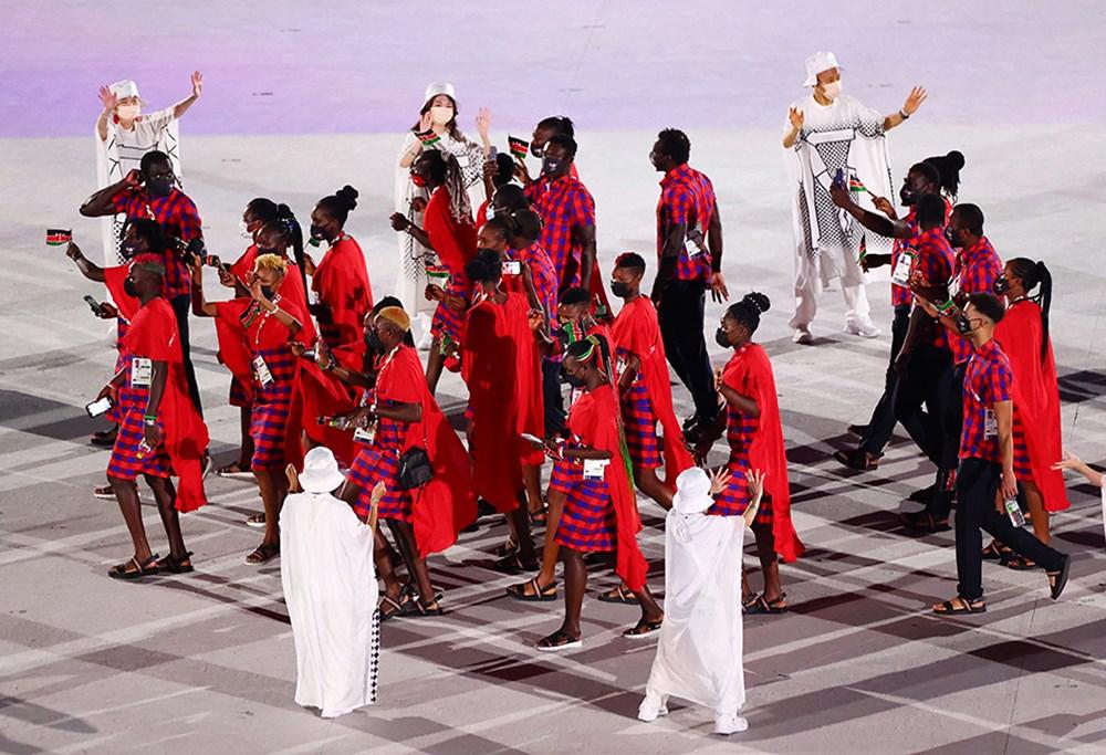Tokyo 2020'nin açılış seremonisi gerçekleştirildi  - 23. Foto