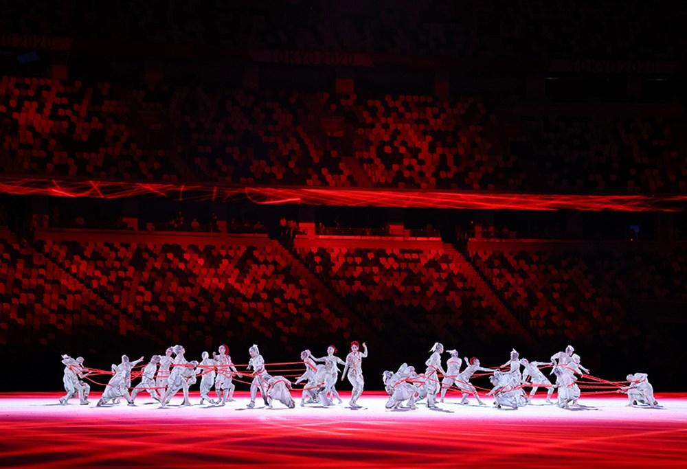 Tokyo 2020'nin açılış seremonisi gerçekleştirildi  - 7. Foto