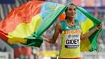 Letesenbet Gidey: Etiyopyalı, 2 günlük kadınlar 10 bin metredeki dünya rekorunu yeniden kırdı