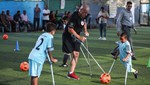 Gazzeli çocuklarda ampute futbol sevinci