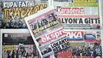 Trabzon yerel basınında Süper Kupa sevinci