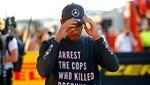 Formula 1 şampiyonu Lewis Hamilton'dan tişörtle ırkçılık protestosu