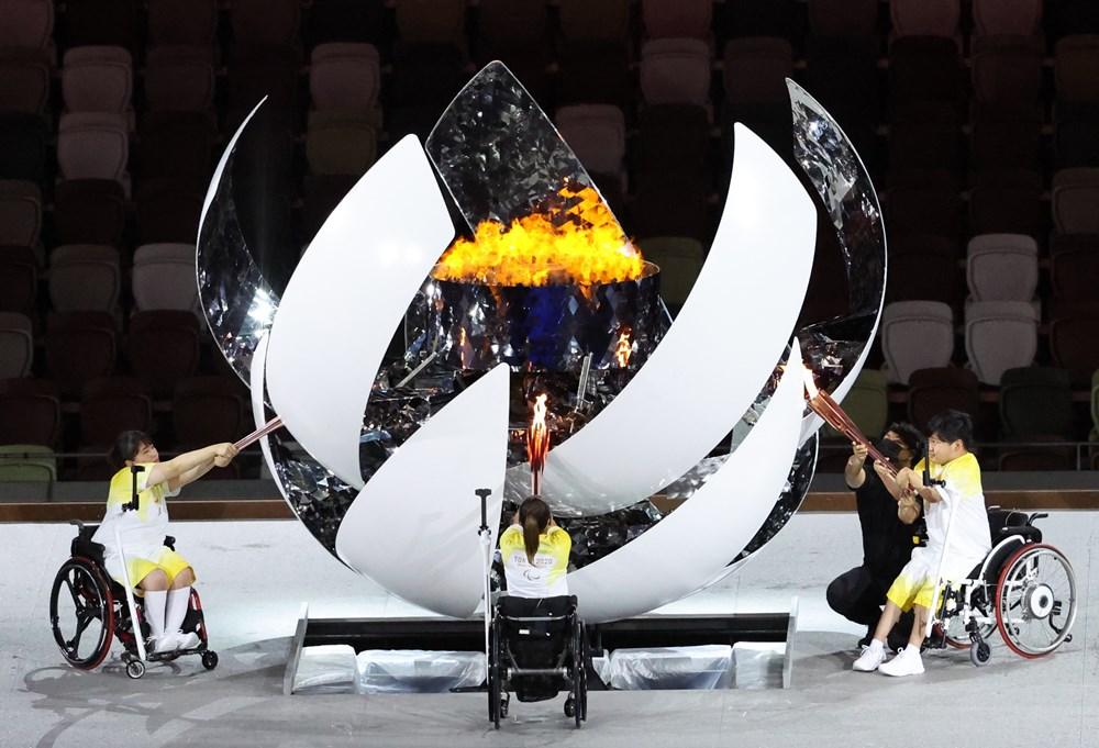 Tokyo Paralimpik Oyunları'nın açılış töreni yapıldı  - 4. Foto