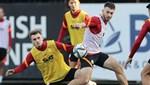 Galatasaray'da Muslera ve Yedlin antrenmanda yer almadı