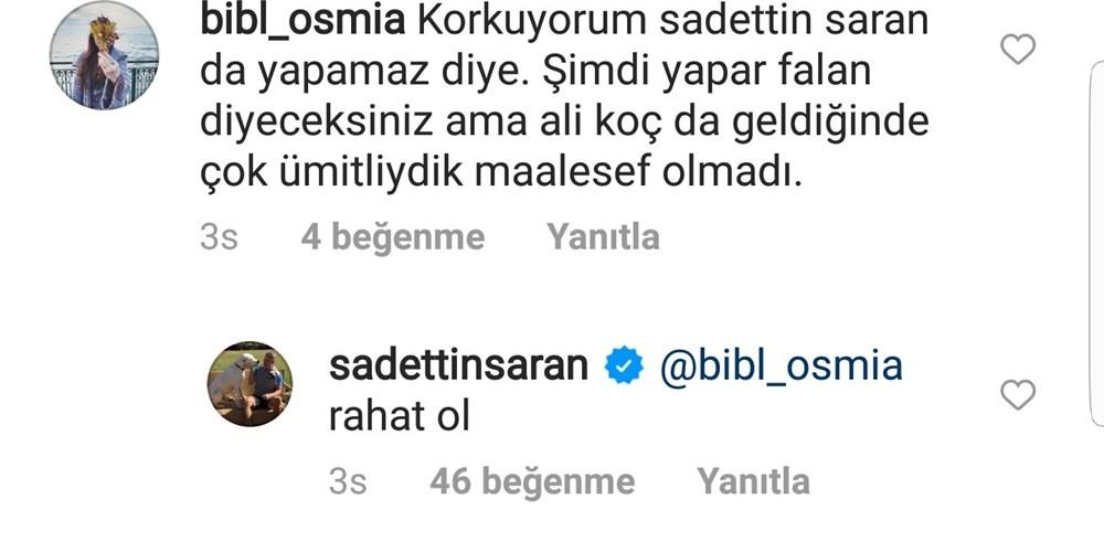 Saadettin Saran'dan başkanlık yorumuna cevap!  - 6. Foto