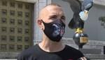 Beşiktaş'ın malzemecisinden yardım kampanyası için farkındalık koşusu