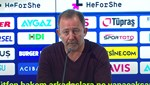 Sergen Yalçın: Hakem inanılmaz kötü maç yönetti