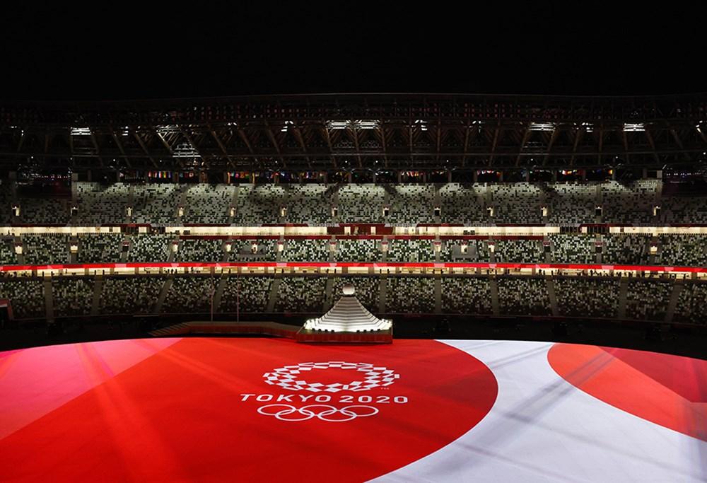Tokyo 2020'nin açılış seremonisi gerçekleştirildi  - 2. Foto