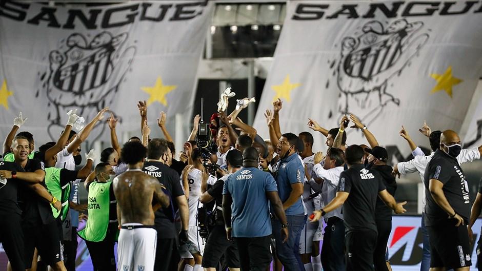 Copa Libertadores'te Palmeiras - Santos finali
