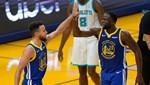 Curry, Golden State Warriors'ı galibiyete taşıdı