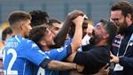 Napoli, Atalanta'yı ilk yarıda dağıttı