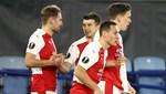 Slavia Prag, Leicester City'yi eledi