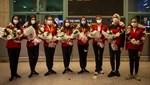 Avrupa şampiyonu Cimnastik Grup Milli Takımı yurda döndü