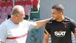 Galatasaray'ın yeni transferi Elabdellaoui ilk idmanına çıktı