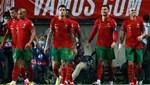 Ronaldo coştu, Portekiz farka koştu