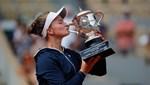 Roland Garros'ta şampiyon Barbora Krejcikova