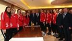 Cumhurbaşkanı Erdoğan, Filenin Sultanları ile bir araya geldi