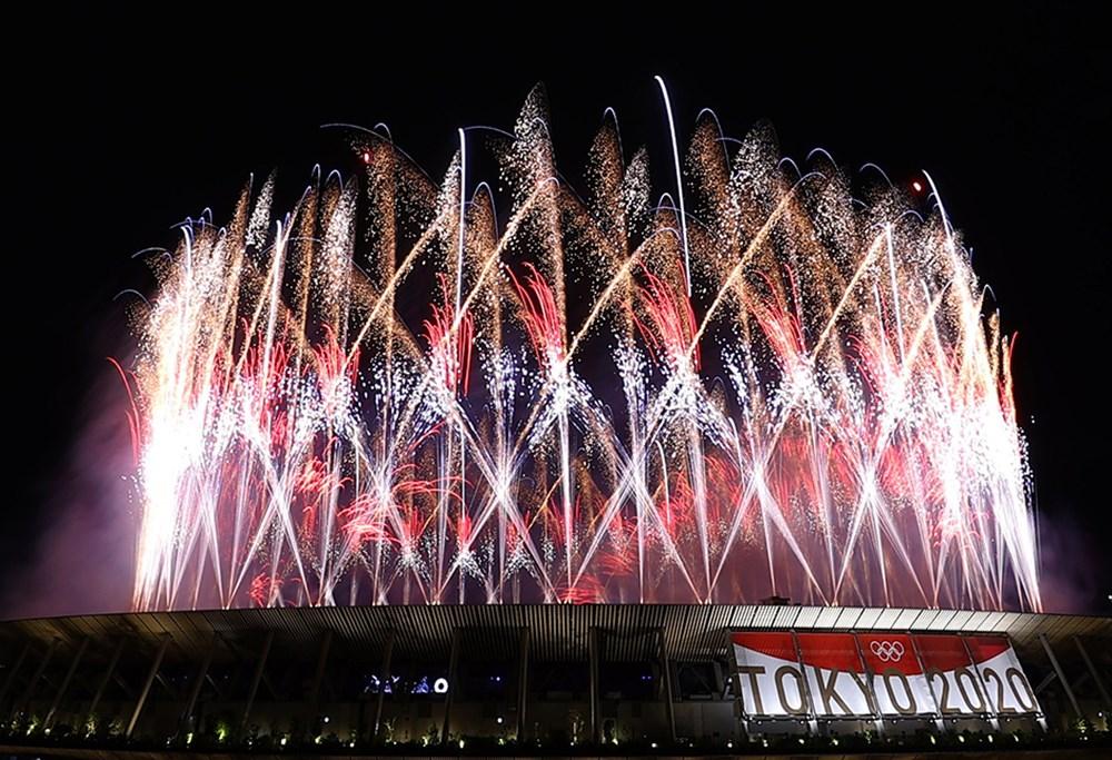Tokyo 2020'nin açılış seremonisi gerçekleştirildi  - 10. Foto