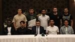 Konyaspor yeni transferlerini tanıttı
