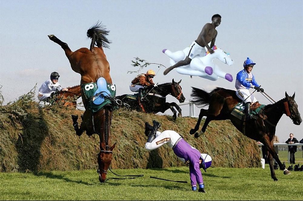 İngilizlerin unicorn'lu eğlencesi viral oldu!  - 23. Foto