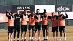 Beşiktaş'ta Jeremain Lens takımla çalıştı