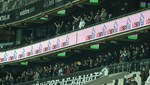 Beşiktaş taraftarı locadan destek verdi