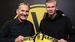 Erling Haaland'ın yeni adresi Borussia Dortmund oldu