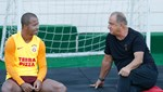 Mariano, Galatasaray'da son idmanına çıktı
