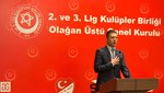 Volkan Can, 2 ve 3. Lig Kulüpler Birliği Başkanı seçildi