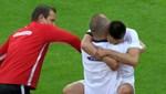 Almanya'da 'mesafesiz' gol sevinci