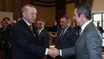 Cumhurbaşkanı Erdoğan, futbol camiasını kabul etti
