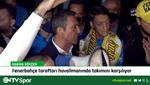 Fenerbahçe'yi Sabiha Gökçen'de taraftarı karşıladı