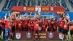 Cluj'dan şampiyonluk hat-trick'i