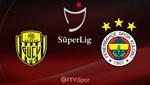 MKE Ankaragücü - Fenerbahçe (Canlı anlatım)