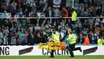 Newcastle-Tottenham maçında korkutucu olay