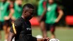 Etebo, Galatasaray'da ilk antrenmanına çıktı