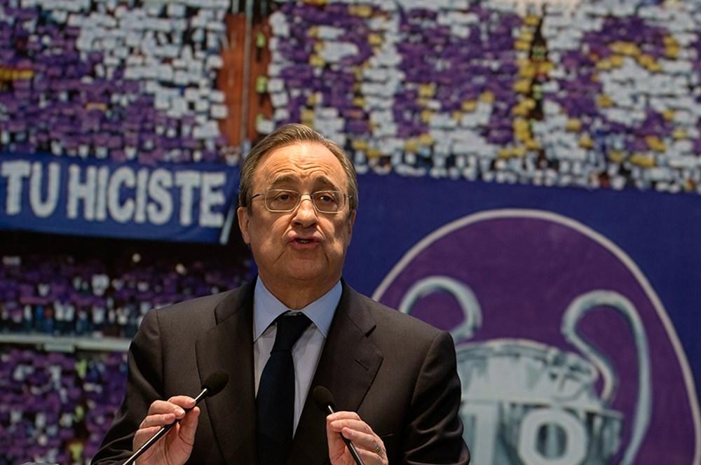 Avrupa Süper Ligi askıya alındı! Florentino Perez'den tepki çeken Türkiye açıklaması  - 4. Foto