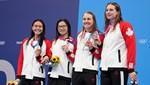 Kanada'nın tüm madalyaları kadın sporculardan