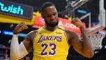 LeBronlu Lakers, New York Knicks'e acımadı