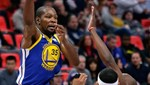 Curry yok, Durant mesaide
