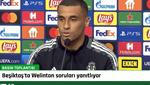 Sergen Yalçın ve Welinton, Sporting Lizbon maçı öncesi basın toplantısında konuşuyor